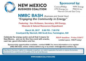 Energy BASH to Feature NM Energy, Minerals & Natural Resources Secretary Ken McQueen